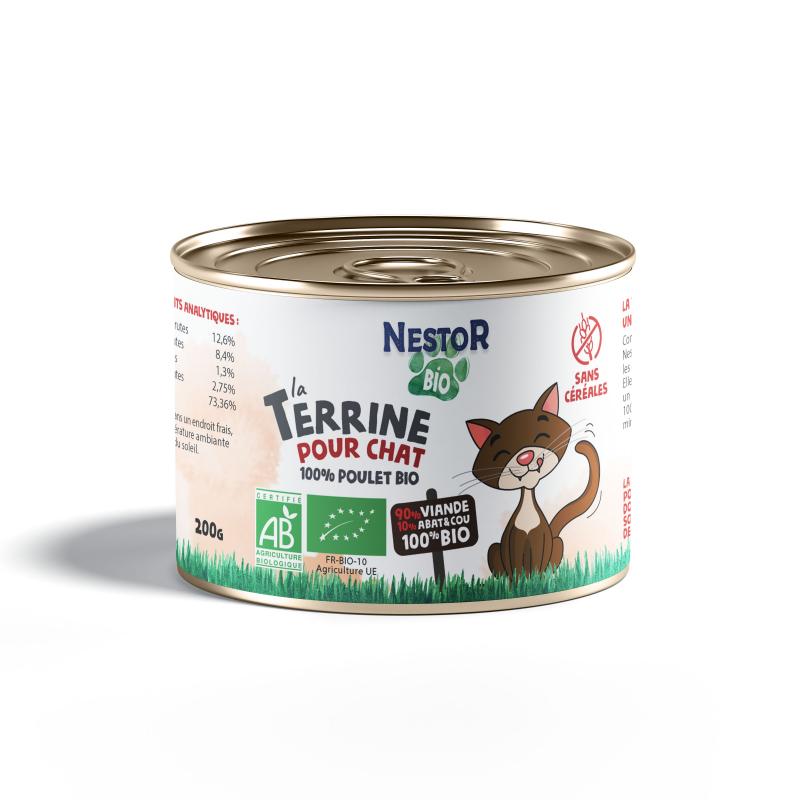 LA TERRINE 100% POULET POUR CHAT